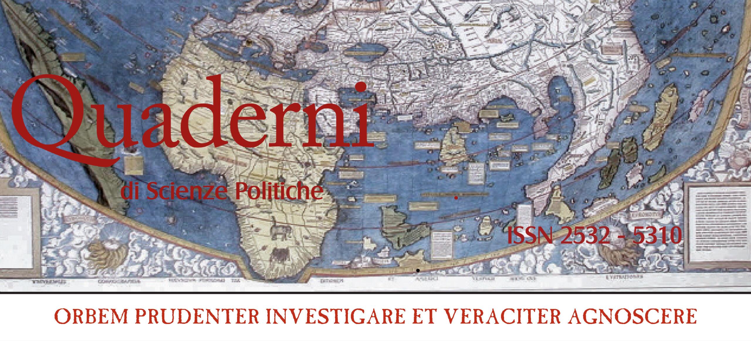 Quaderni di Scienze Politiche